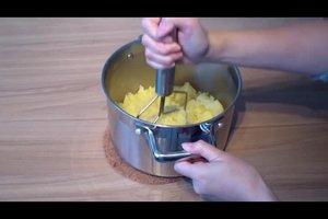 Wie macht man Kartoffelpüree selber?