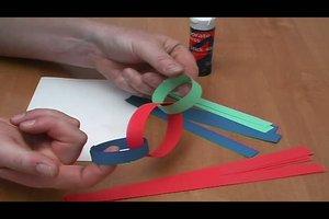 Kette selber basteln - Anleitung für eine Papierkette