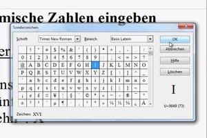 Römische Zahlen mit OpenOffice schreiben - so geht's