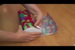 Aus Pergament eine Laterne basteln - eine kinderleichte Anleitung