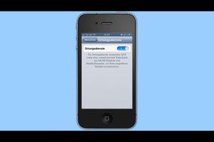 Bei iPhone 4 das GPS aktivieren - so geht's