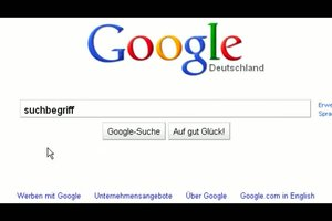Suchvorschläge deaktivieren - Google-Suche ohne Google Suggest
