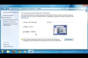 Am PC die Schrift vergrößern - so ändern Sie die Darstellung in Windows