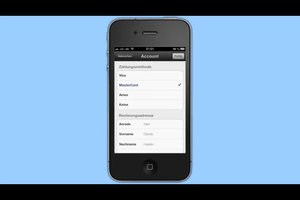 Zahlungsdaten auf dem iPhone bearbeiten - so geht's