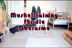 Oberarmmuskeltraining - zwei Übungen für den Muskelaufbau