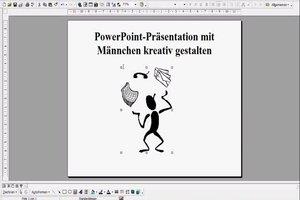 PowerPoint-Präsentation mit Männchen kreativ gestalten
