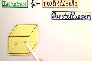 Isometrie zeichnen - so wird's gemacht