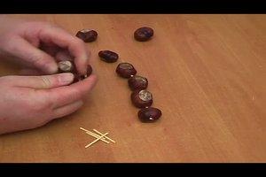 Basteln mit Kastanien - so entstehen nette Tiere