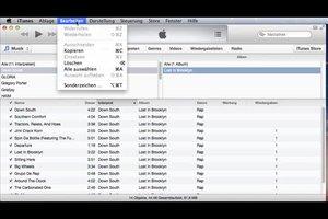 Alben in iTunes entfernen - so geht's