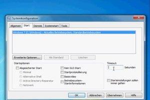 """""""msconfig timeout"""" - so ändern Sie die Startzeit von Windows"""