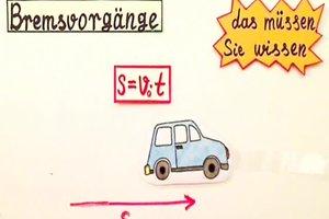 Bremszeit berechnen - so wird's gemacht
