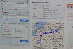 Den Mautrechner für Frankreich online verwenden - so planen Sie Ihre Reisekosten richtig