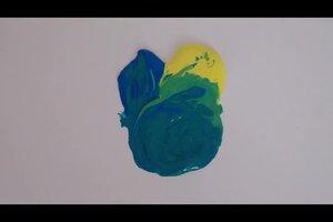 Grün mischen - so gelingt's mit Acrylfarben