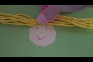 Engel basteln aus Papier - Anleitung für Kinder