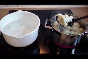 Blumenkohl blanchieren und einfrieren - so gelingt es