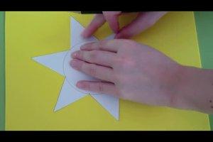 Sterne zeichnen - so gelingt's als Schablonen