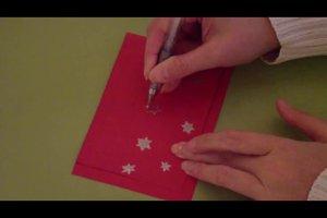 Einladung für die Weihnachtsfeier kreativ gestalten