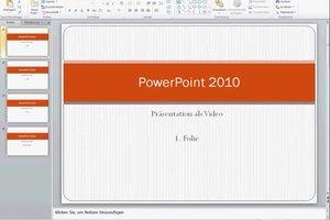 PowerPoint: Präsentation als Video speichern - so geht's