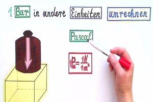 1 Bar - so gelingt die Umrechnung in Pascal und Newton