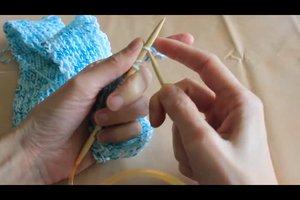Babyschal stricken leicht gemacht - Anleitung für Anfänger