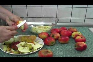 Apfelkompott selber machen