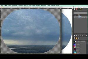 Eckiges Bild rund machen - so ändern Sie die Umrisse Ihrer Fotos am Computer