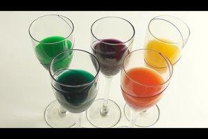 Kühlerfrostschutz - Farben richtig verwenden