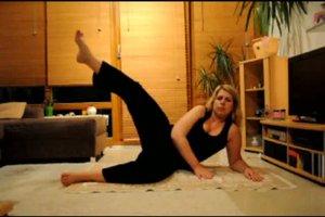 Übungen für Po und Oberschenkel