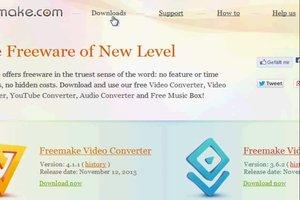 Freemake Video Converter - eine Anleitung