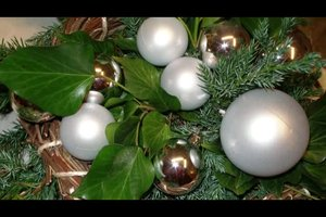 Türkränze zu Weihnachten selber basteln