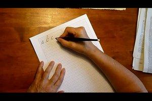 Schönschreiben lernen - Anleitung