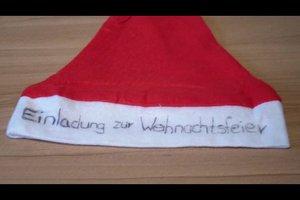 Einladungen zu Weihnachten basteln - so geht's kreativ