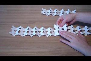 Schneeflockenformen - so basteln Sie sie aus Papier