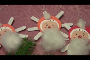 Weihnachtsanhänger selber basteln
