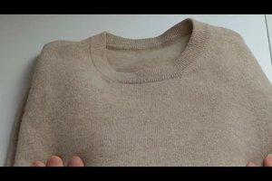 Kaschmir-Pullover waschen - darauf müssen Sie achten