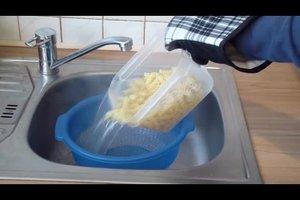 Nudeln kochen in der Mikrowelle - so geht's
