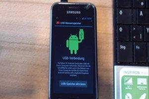 Samsung Galaxy Mini an PC anschließen - so geht's