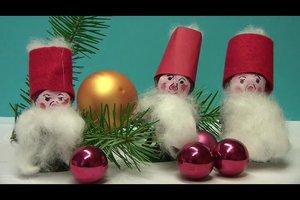 Weihnachtswichtel basteln - so geht's
