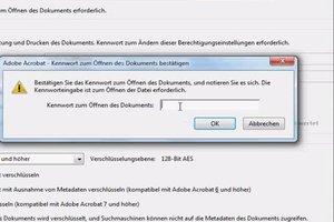 Kopierschutz für PDF erstellen - Anleitung