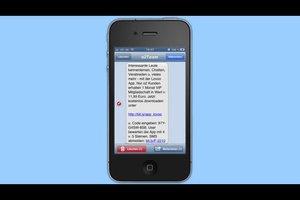 iPhone 4: SMS wiederherstellen - so kann's klappen