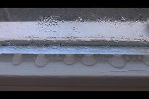 Beschlagene Fenster im Winter - das hilft