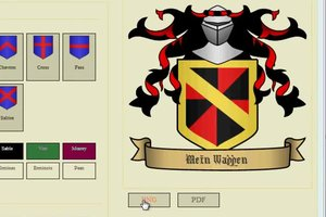Mit einem Wappen-Generator ein eigenes Logo erstellen - so geht's
