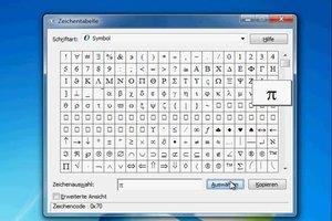 Pi-Zeichen über die Tastatur erstellen - so klappt's