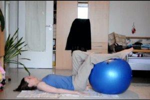 Übungen mit Gymnastikball