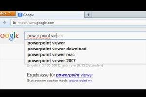 PowerPoint Viewer Portable unterwegs nutzen - so geht's