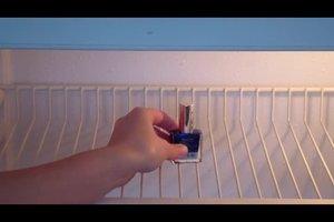 Nagellack im Kühlschrank aufbewahren - das sollten Sie beachten