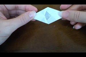 Sterne basteln aus Papier - so entstehen Drachensterne
