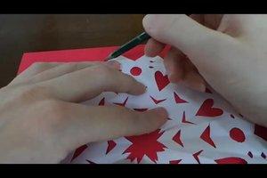 Sterne basteln mit Transparentpapier - Anleitung für Weihnachtssterne