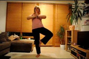 Oberschenkeltraining - einfache Übungen