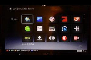 Sony Bravia Internet Browser richtig nutzen - so kommen Sie mit dem Fernseher ins Internet